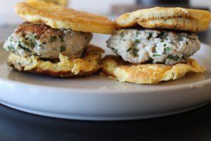 Whole30 Sausage Egg Sandwich