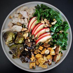 Autumn in a Mason Jar Salad