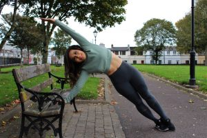 Park Bench Barre - Side Plank