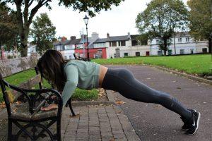 Park Bench Barre - Pushups