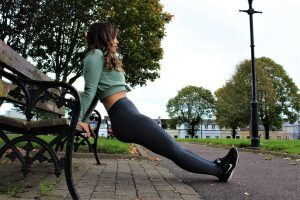 Park Bench Barre - Triceps Dips