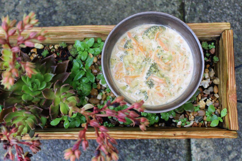 Happy Memories - Whole30 Broccoli Cheese Soup