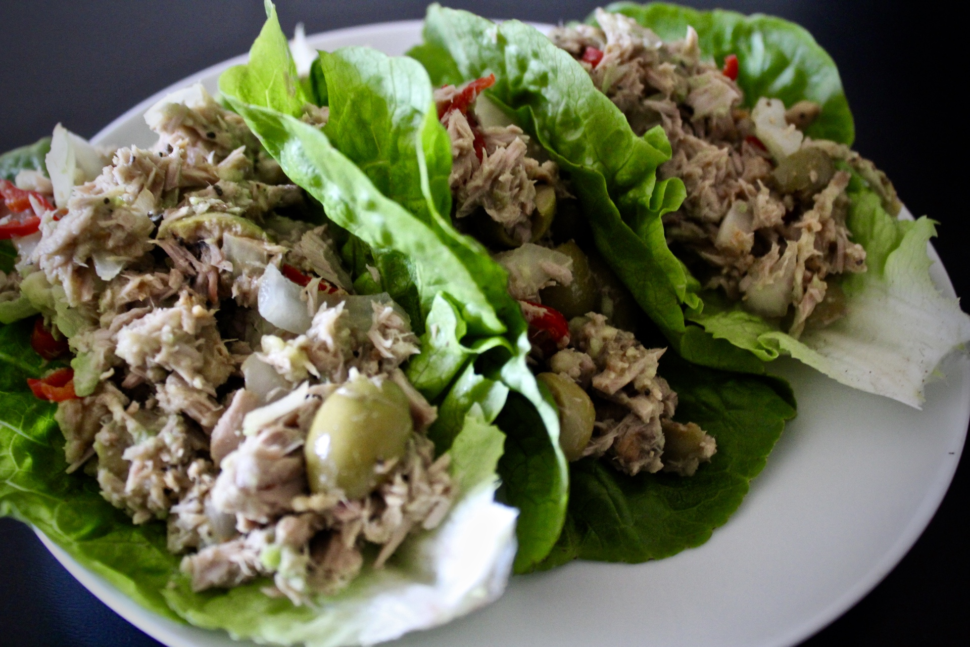 Fresh Perspective - Whole30 Tuna Avocado Salad