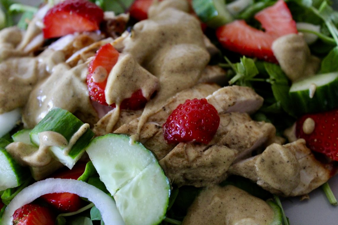 Know your purpose - Whole30 Strawberry Walnut Salad