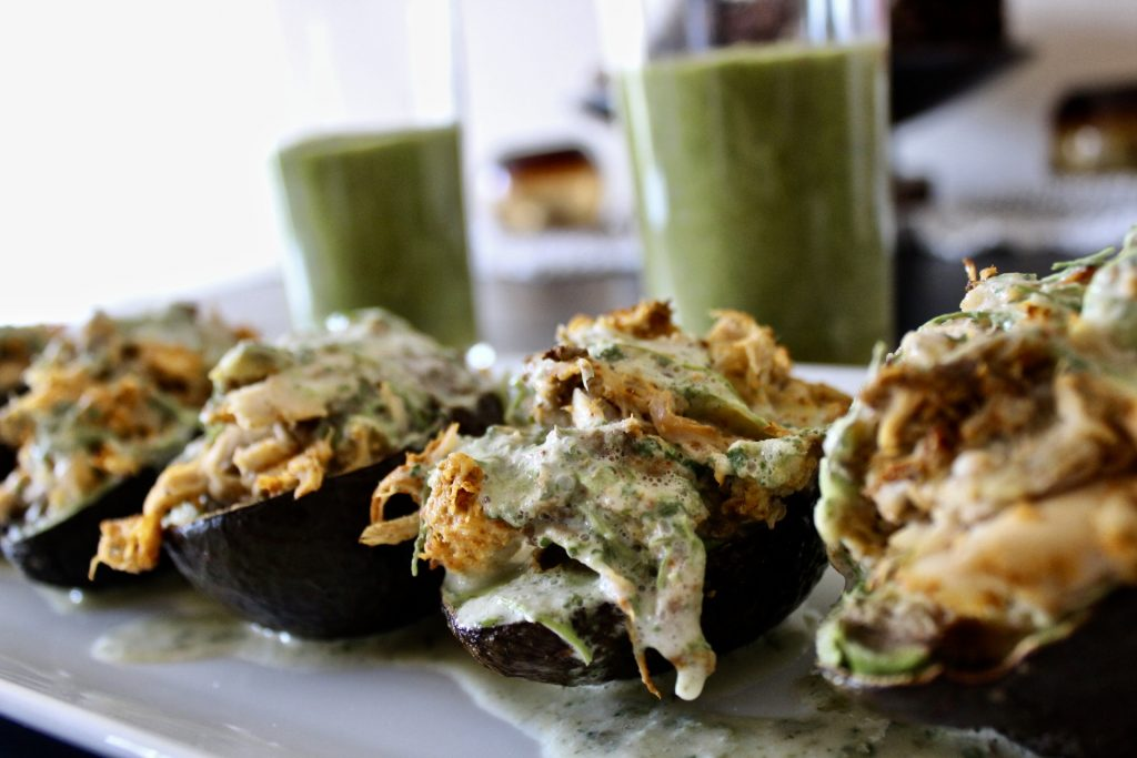 Personal Mid Year Review - Whole30 Southwest Stuffed Avocados