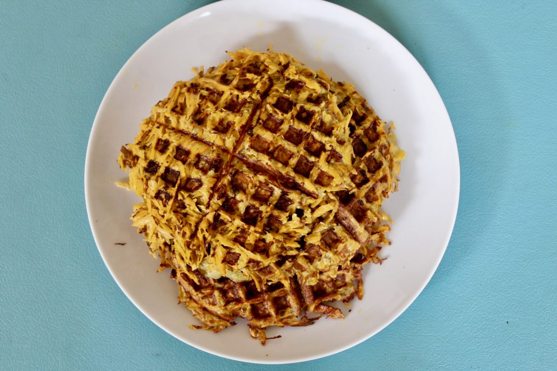 Trust in Abundance - Three Ingredient Sweet Potato Waffles