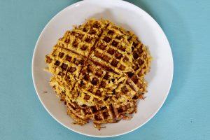 Trust in Abundance - Three Ingredient Sweet Potato Waffles