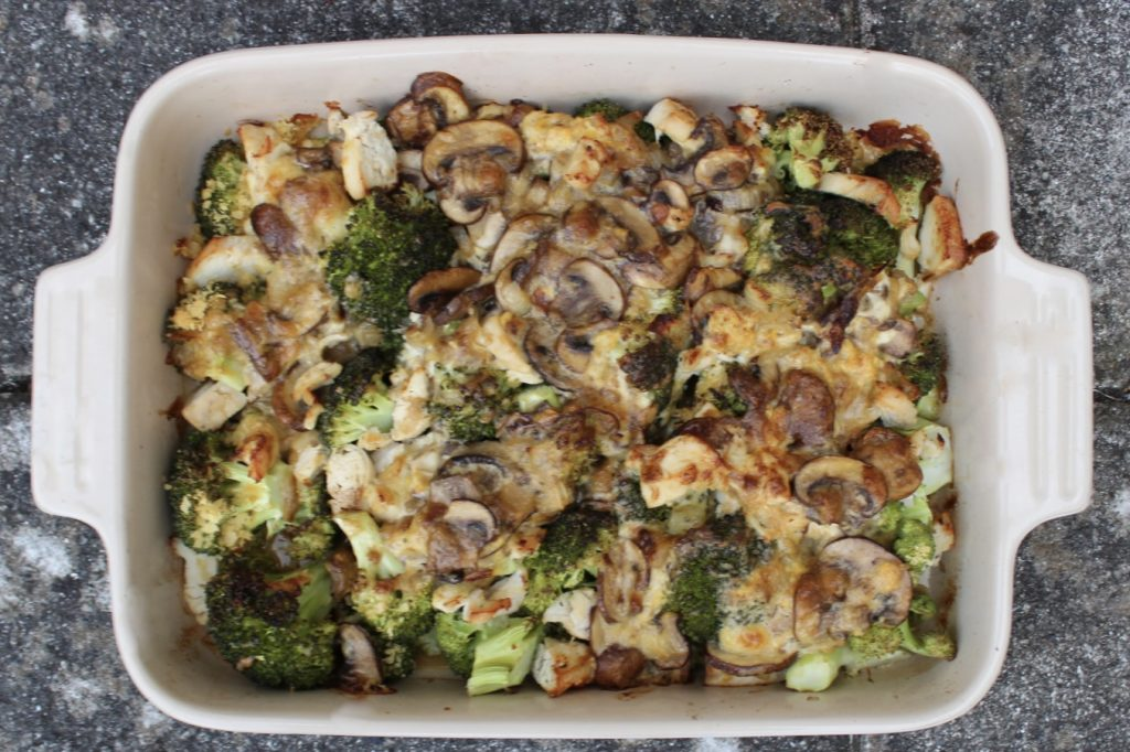 How to Stay in Touch with Ourselves - Whole30 Chicken Broccoli Casserole