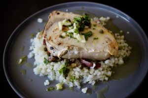 Whole30 Swordfish Salmoriglio - Compare how things used to be with how they are now