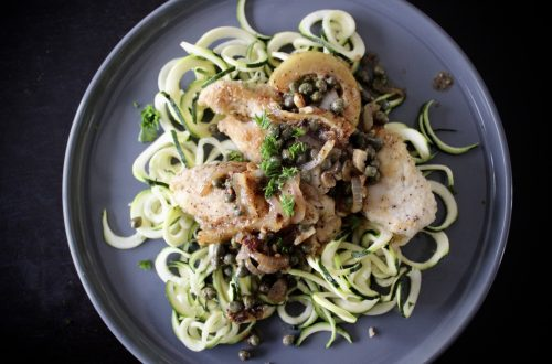 Whole30 Chicken Piccata