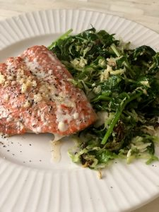 What we absorb - Sauteed Super Greens